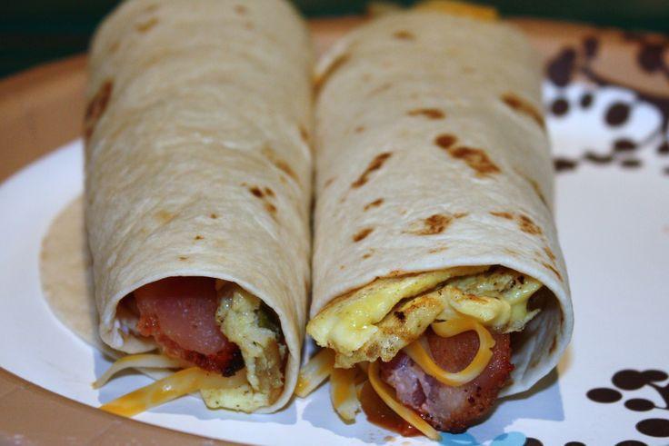 Quick and Easy Breakfast Burrito Supreme