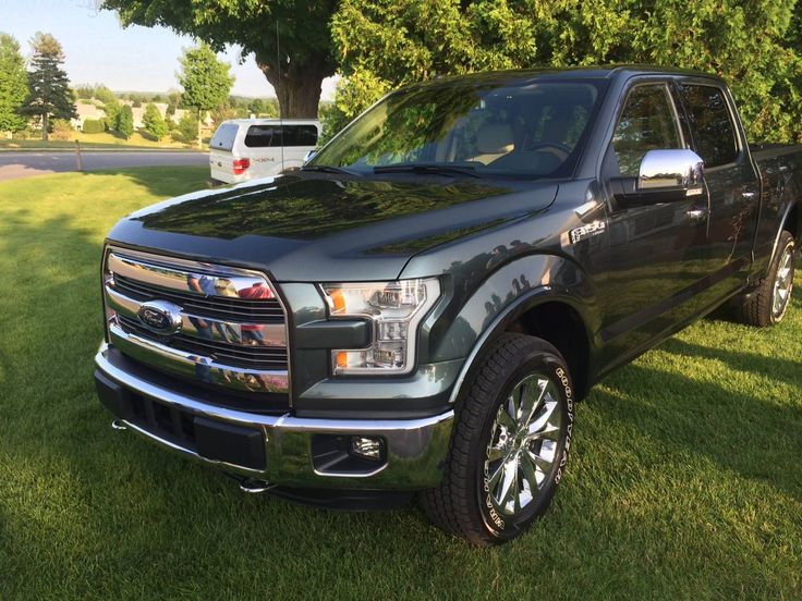 2015 Ford F150 Lariat  I think the color is Guard  Trucks