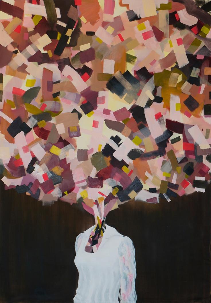 Headcase II - 2012 - 220x160cm    www.ewoudbakker.com