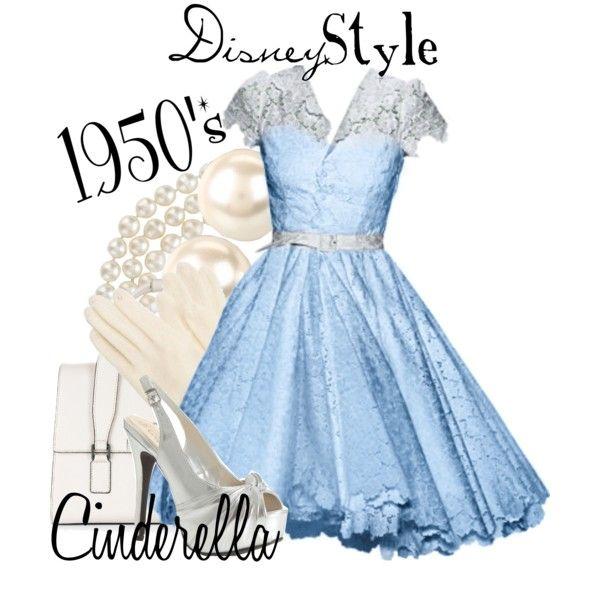 """Disney Style : Cinderella"" by missm26 on Polyvore"