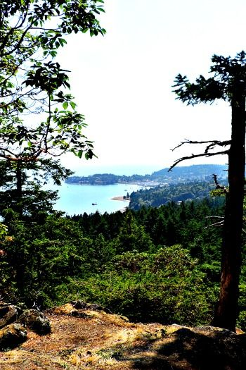 Sunshine Coast, BC Canada - Soames Hill Hike Gibsons