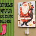 Make a Christmas stocking holder.