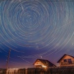 Star Trails de decembrie!