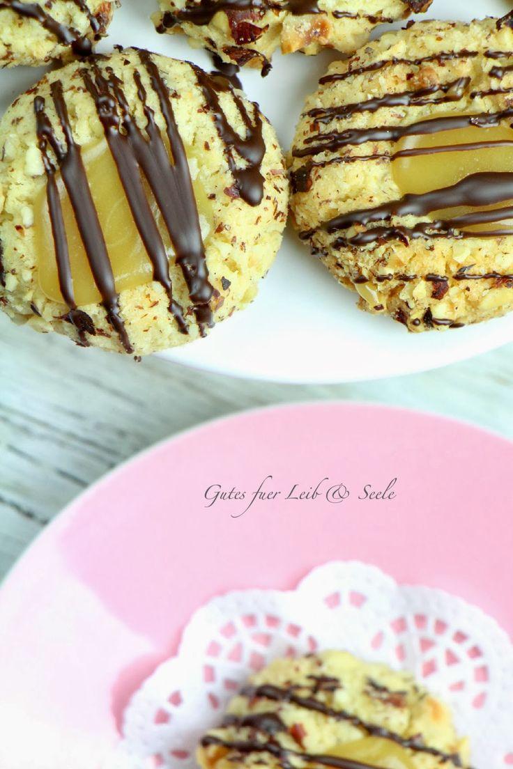 Haselnuss-Karamell-Kekse