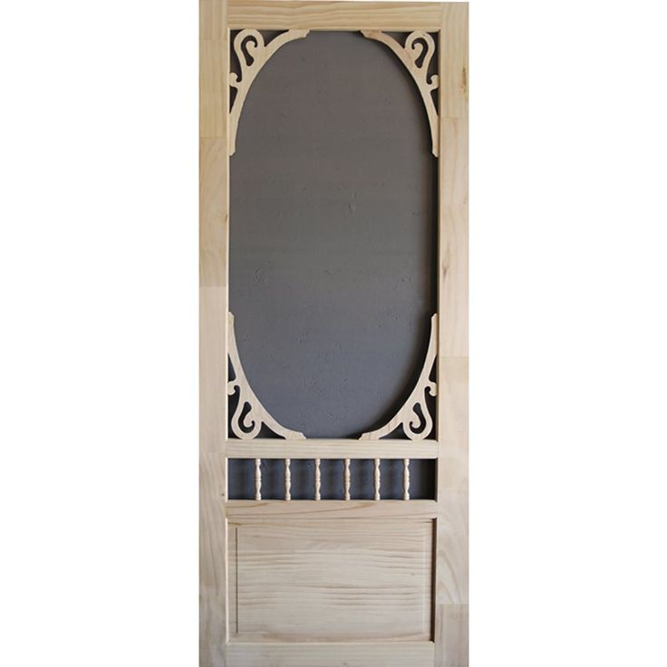 Shop Screen Tight  Glenwood Wood Natural Wood Screen Door (Common: 34-in x 80-in; Actual: 34-in x 80-in) at Lowe's Canada. Find our selection of screen doors at the lowest price guaranteed with price match.