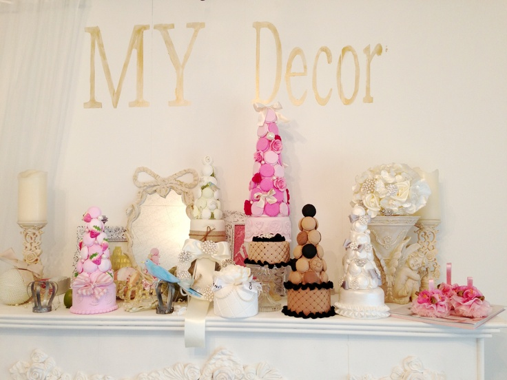 Macaron towers clay craft by MY Decor