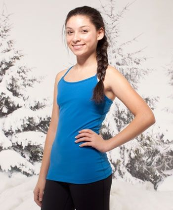 The perfect sweat-wicking tank to keep you cool until Savasana. | Tumblin' Tank
