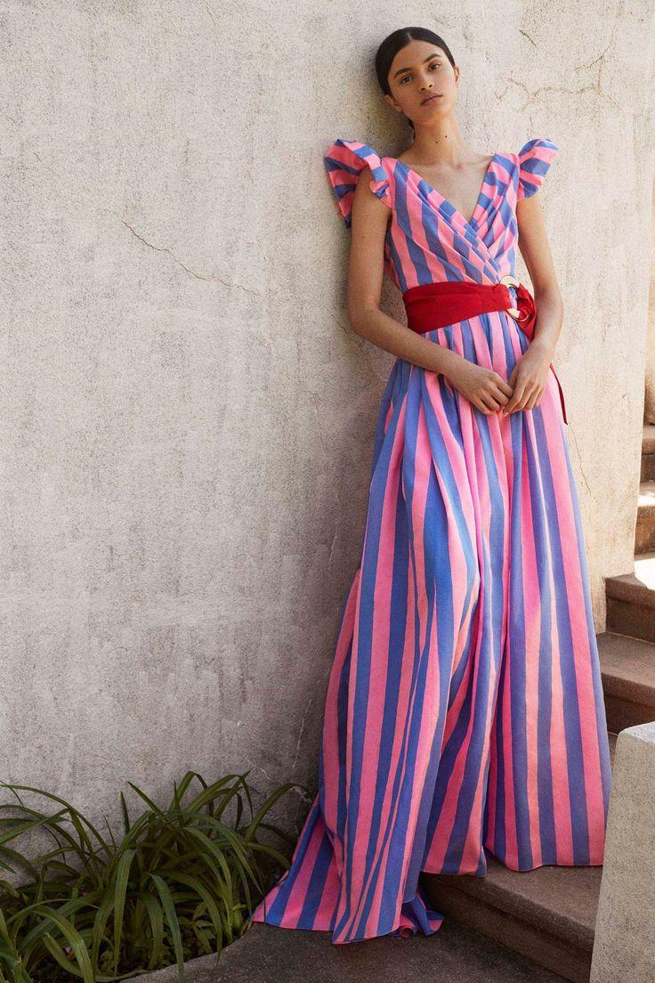Carolina Herrera | Change Your Stripes | 9 Top Trends From the Resort 2018 Runways