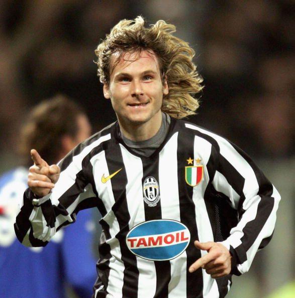 Pavel Nedved. Goal against Sampdoria, a great leader.