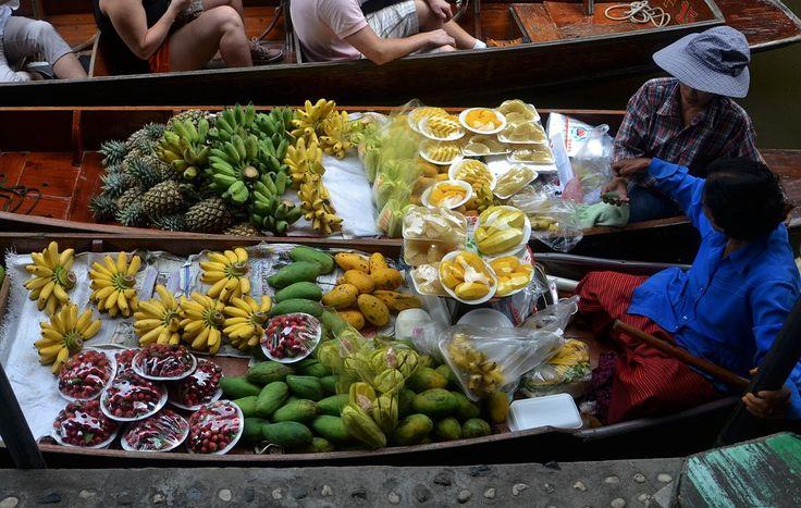 Os sabores naturais das frutas da Tailândia! A comida tailandesa é mundialmente conhecida e conceituada, com suas misturas de temperos e ingredientes.
