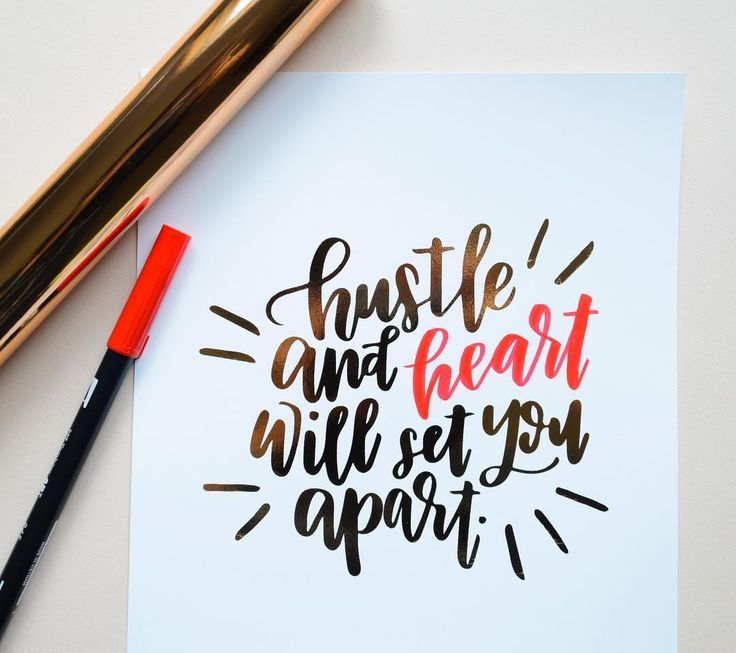Hand lettering quotes on pinterest love