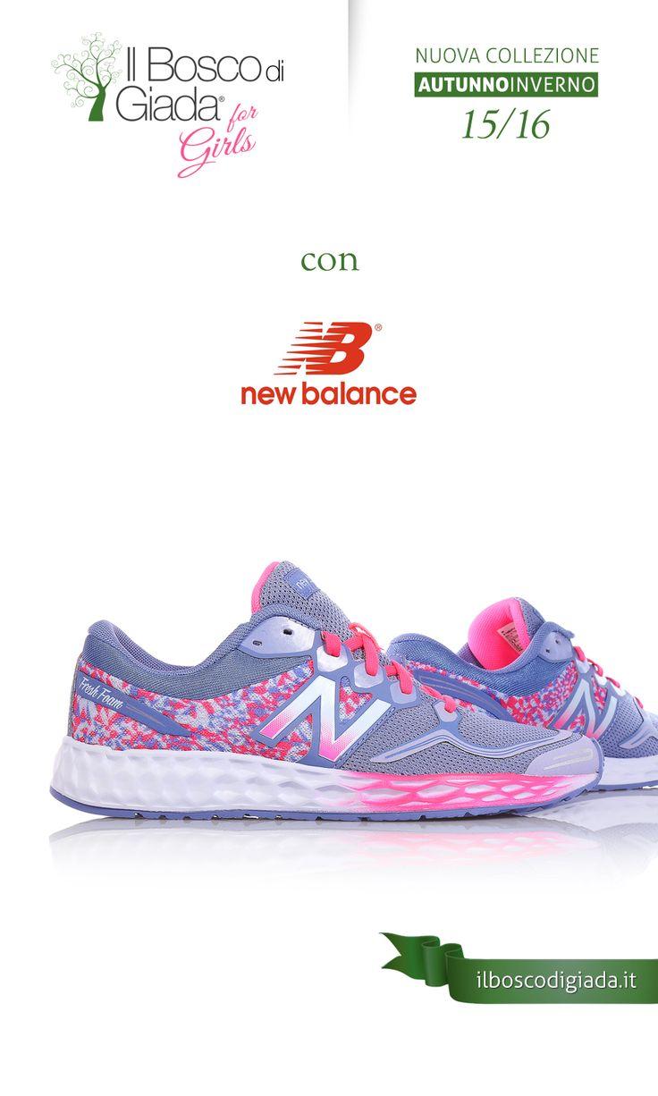 Nuova Collezione #newbalance Autunno-Inverno 15/16. #Scarpe per #bambini, #ragazzi e #donne alla #moda. Acquistale su www.ilboscodigiada.it - #shoes #FW1516