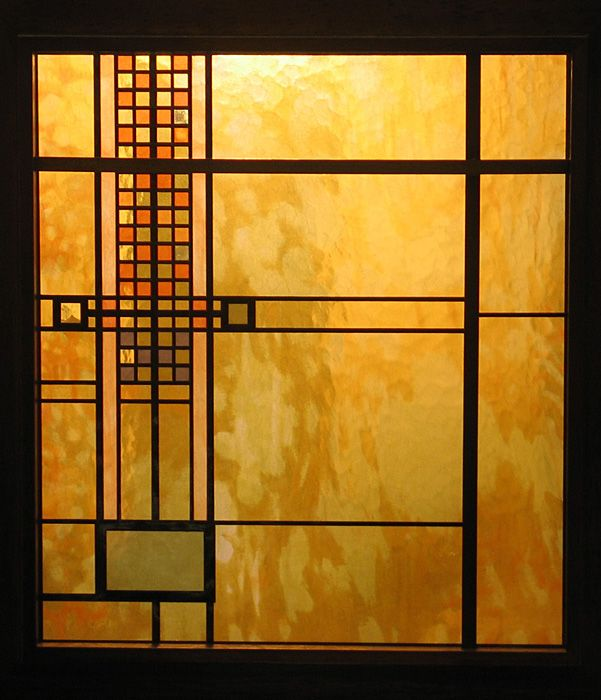 Frank lloyd wright lightscreen arts crafts mission for Architecture frank lloyd wright