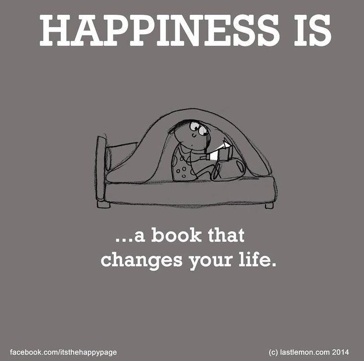 Happiness is a book that changes your life.