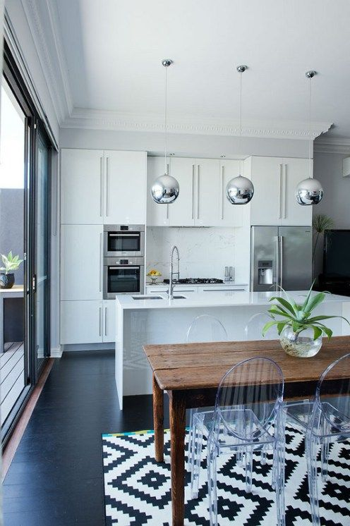 A beautiful reno in Mt Lawley and saying 'no to a red feature wall' | the traveller's return modern kitchen