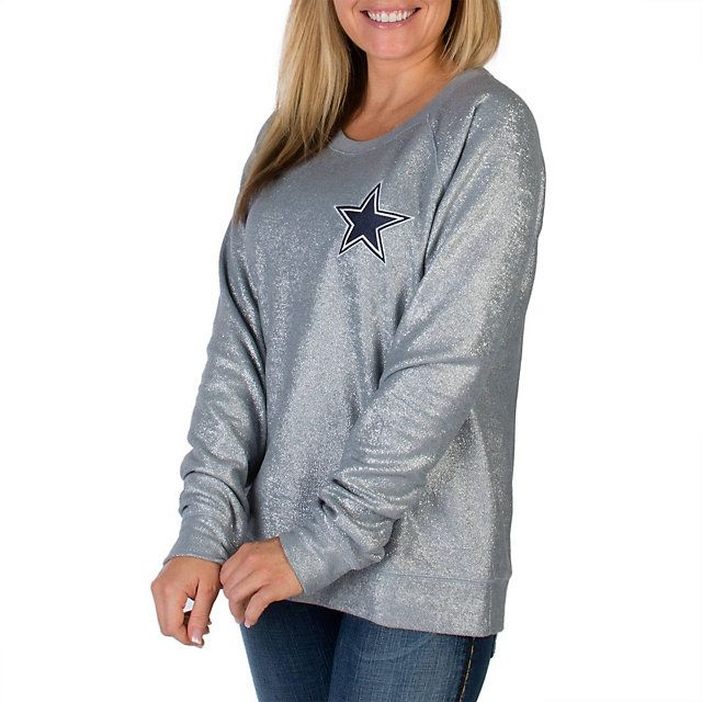 Dallas Cowboys PINK Bling Crew | PINK | Womens | Cowboys Catalog | ShopCowboys