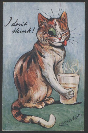 """I don't drink!"" 