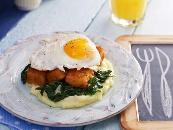 Fischstäbchen mit Ei ist ein Rezept mit frischen Zutaten aus der Kategorie Blattgemüse. Probieren Sie dieses und weitere Rezepte von EAT SMARTER!