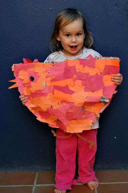 Little Red Hen Pinata....or art project