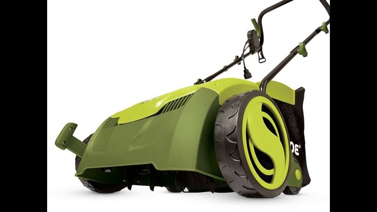 Sun Joe AJ801E 12 Amp 13 Inch Electric Scarifier Plus Lawn Dethatcher  w...