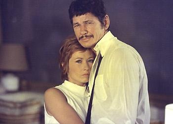 Le Passager de la pluie - Charles Bronson et Marlène Jobert