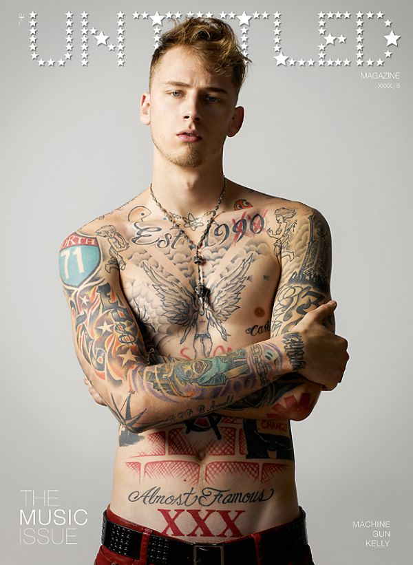 machine gun kelly tattoos - photo #3