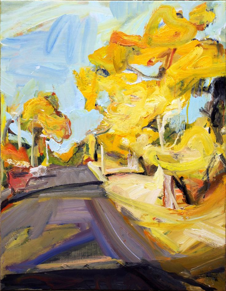 Robert Malherbe: Blackheath street landscape :: Wynne Prize 2015 :: Art Gallery NSW