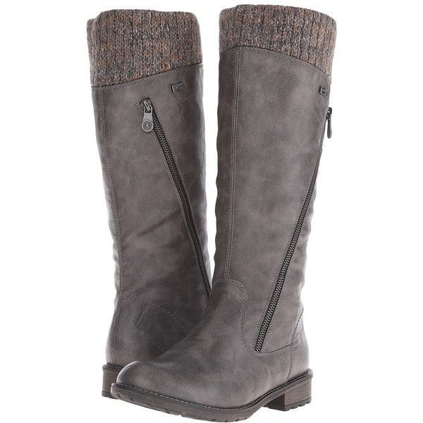 Rieker R3343 Women's Dress Boots ($160) ❤ liked on Polyvore featuring  shoes, boots