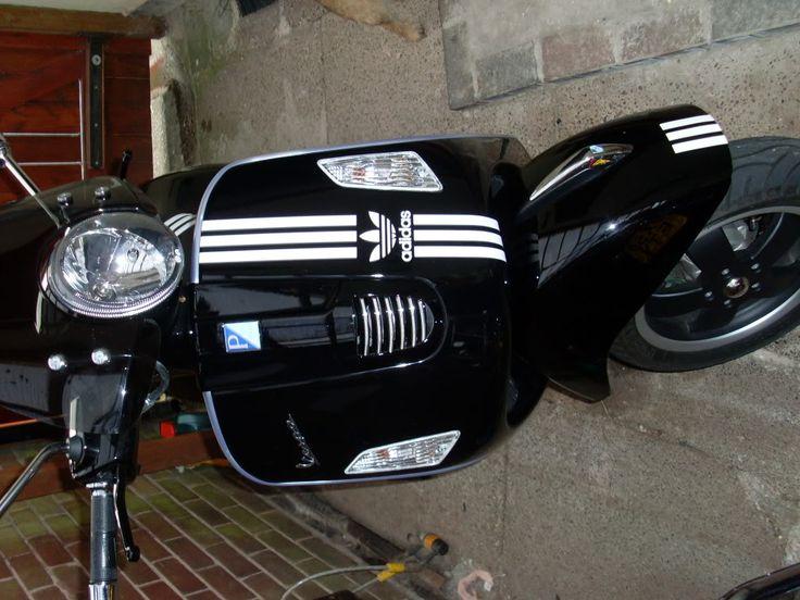 Modern Vespa : Vespa 125 GTS Super