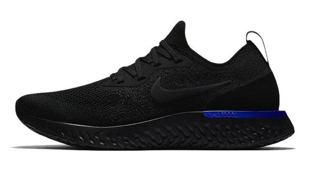 5a5d3e2e014 Nike Epic React Flyknit - Black in 2019