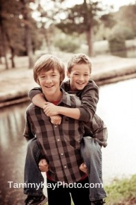 """""""Love Conquers All.""""  This picture depicts the love between Charlie and Porter throughout the entire play. Though the two boys had their ups and downs, in the end they always had each other. Despite their father going to jail and their mother's grief, Charlie and Porter were determined to overcome these obstacles together and become stronger for it."""