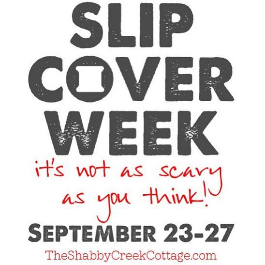 Slipcover Week: How to make slipcovers with an eight part step by step series. Highly detailed, free tutorial on slipcovering couches or chairs.