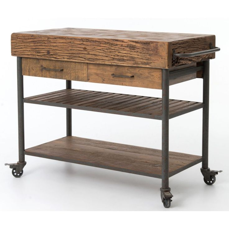 DirectBuy, Inc. | Reclaimed wood kitchen island, Reclaimed ...
