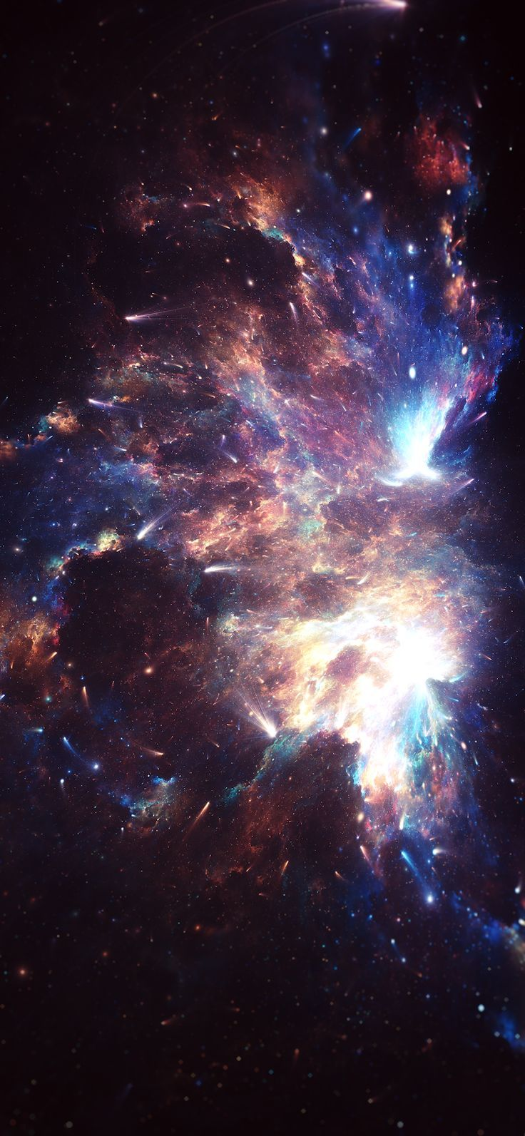 Colorful Nebula (iPhone X) – #Colorful #iPhone #Nebula – Picpin