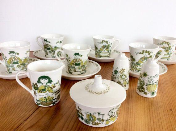 Figgjo Flint Turi Design Market Cups