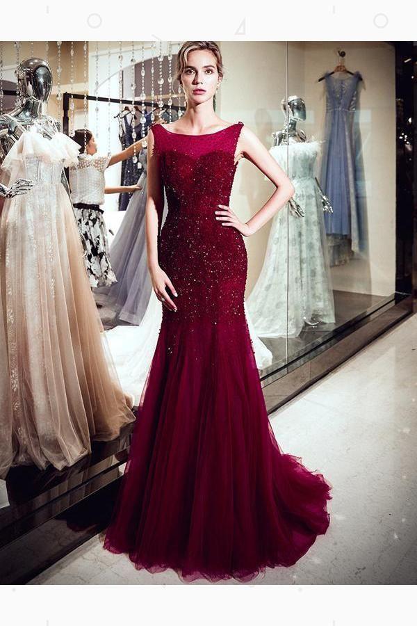Outlet Nice Sleeveless Prom Dress ec9d6f6ba4e40