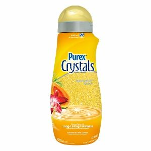 Use Purex Crystals to make sachets for your drawers.  She says the smell doesn't go away.  She used a metal tea bag, but I would make them cuter and more feminine.