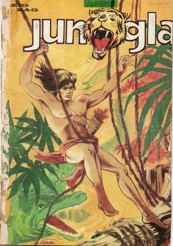 Jungla # 3. En portada Elundí (Comic Chile)