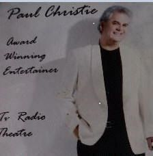 Paul Christie  The ultimate Gene Pitney sound-a-like Paul Christie in Spain on The Costa Blanca