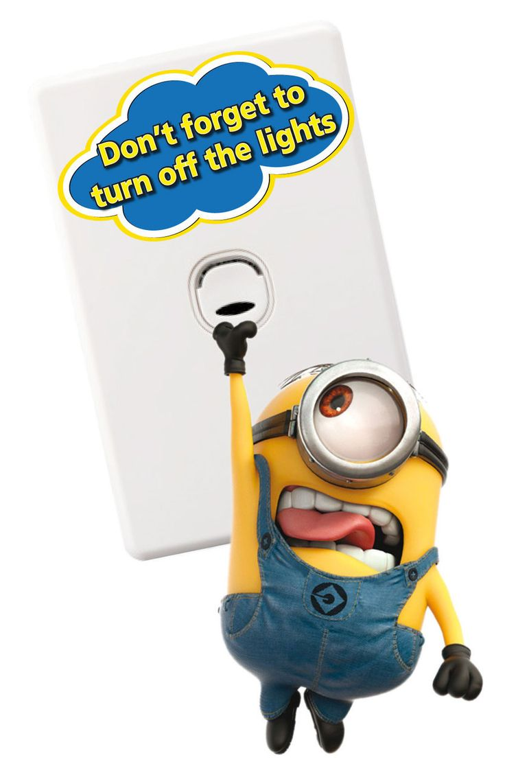 17 Best images about light switch stickers on Pinterest ...:Minions Light Switch Wall Stickers - Totally Movable,Lighting