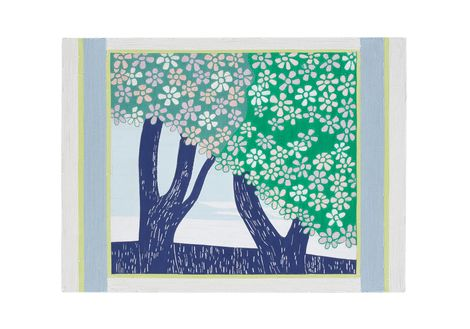 Kintaro Ishikawa, CherryTrees  on ArtStack #kintaro-ishikawa #art
