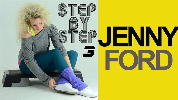 STEP AEROBICS  аэробика aerobica Aeróbica this is Jenny Ford Step 3.