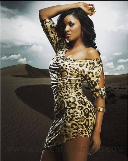 Omotola Ekeinde #leopardprint