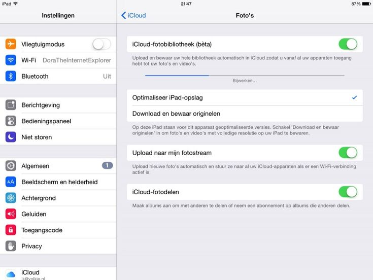 OPSLAG IPAD - Alles over opslagruimte vrijmaken op je iPad foto's