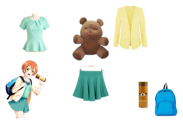 summer time anime girl by mayleneholm on Polyvore featuring Cutie