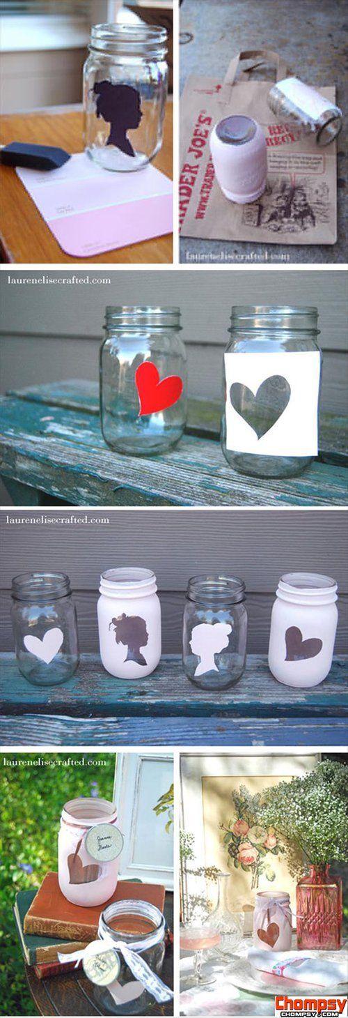 painted mason jars craft ideas