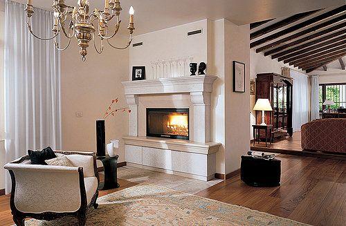 Palazzetti wood burning stove
