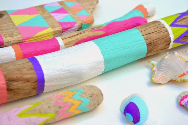 Esta idea de decoración es muy sencilla y divertida para hacer con niños.   En verano tenemos más tiempo libre y solemos pasear mas por ...