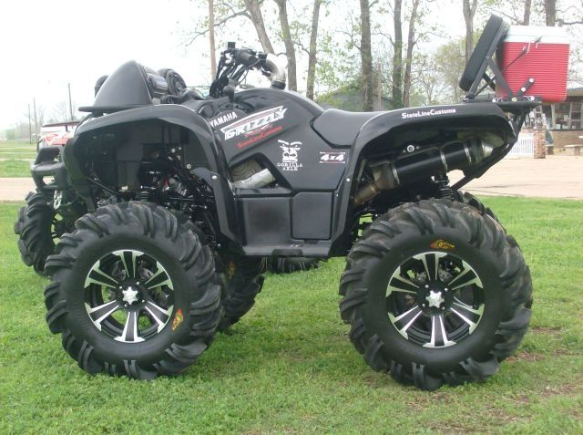 Yamaha Grizzly 700 Lifted Google Search The Man S Pin