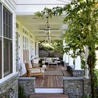 Outdoor Living Room - traditional - patio - st louis - by Mitchell Wall Architecture & Design